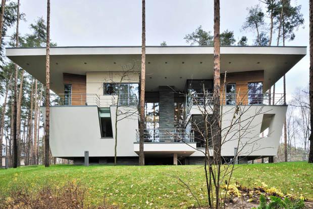 ออกแบบบ้านโมเดิร์น สองชั้น