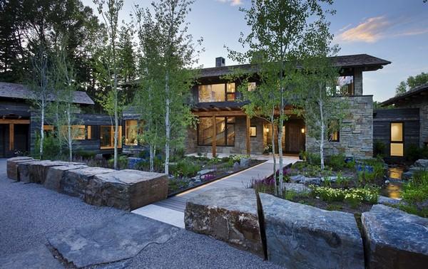 บ้านหินและสวนหิน