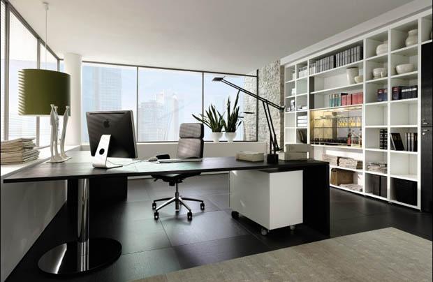 ห้องทำงาน สวยหรู ดูทันสมัย